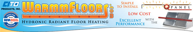 WarmmFloors Hydronic Radiant Floor Heating